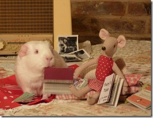 Miss Mouse and Fairy listening to the radio and reading (7)